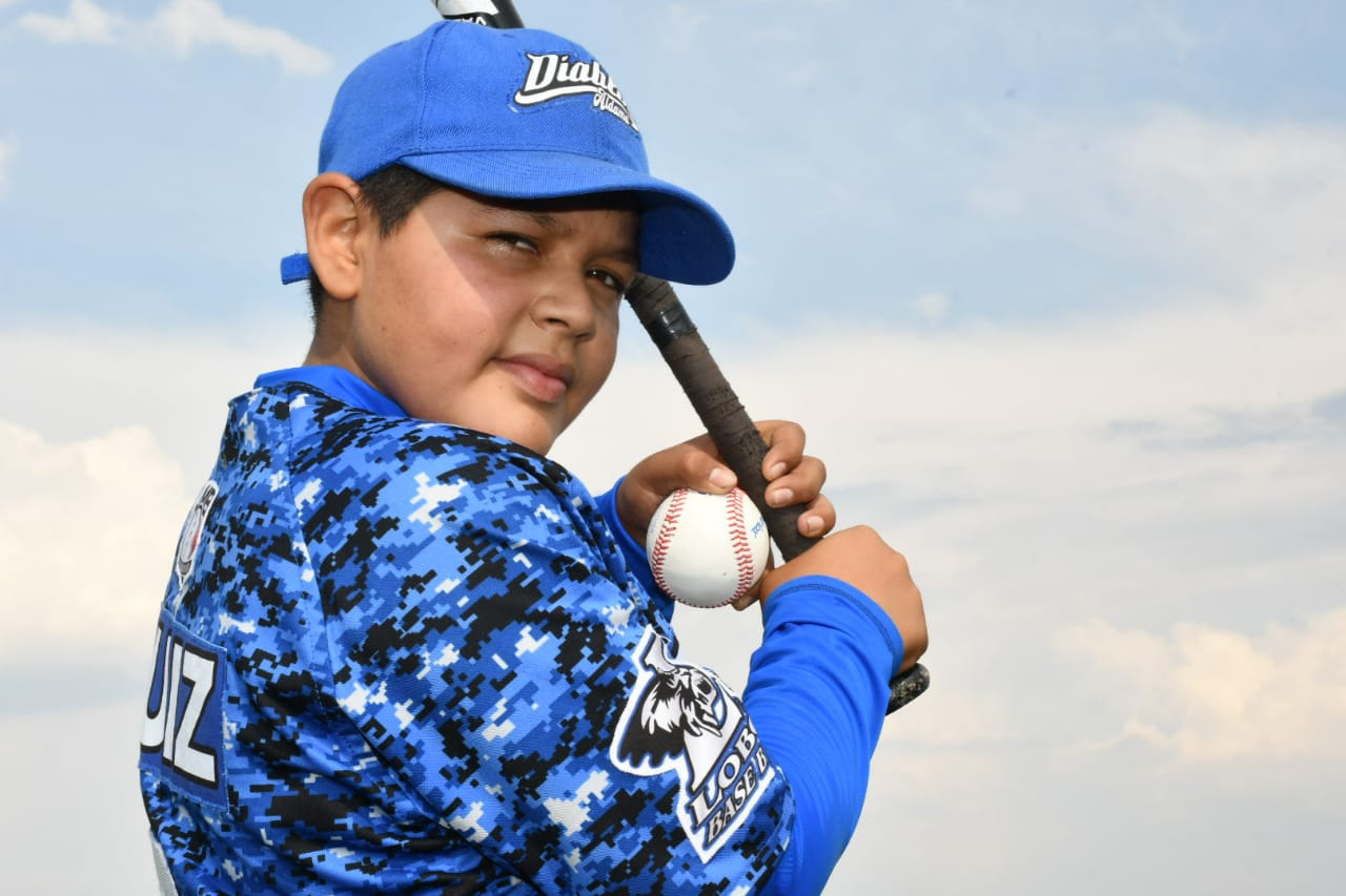 Niño de Aldama fue seleccionado para torneo nacional de beisbol