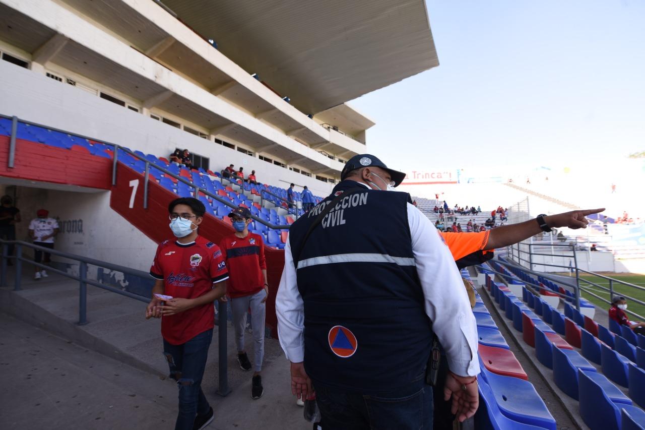 Alistan operativo de seguridad para partido Irapuato-Cruz Azul Hidalgo