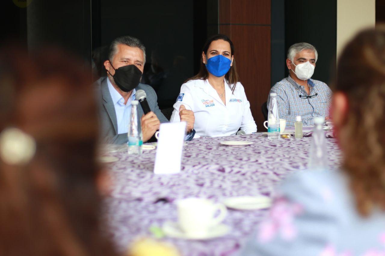 Se suman sindicatos y trabajadores a propuesta de Lorena Alfaro; piden salud y prevención