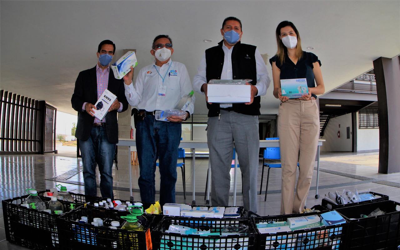 Estudiantes de SEG Suroeste recolectan y donan material médico para personal de salud