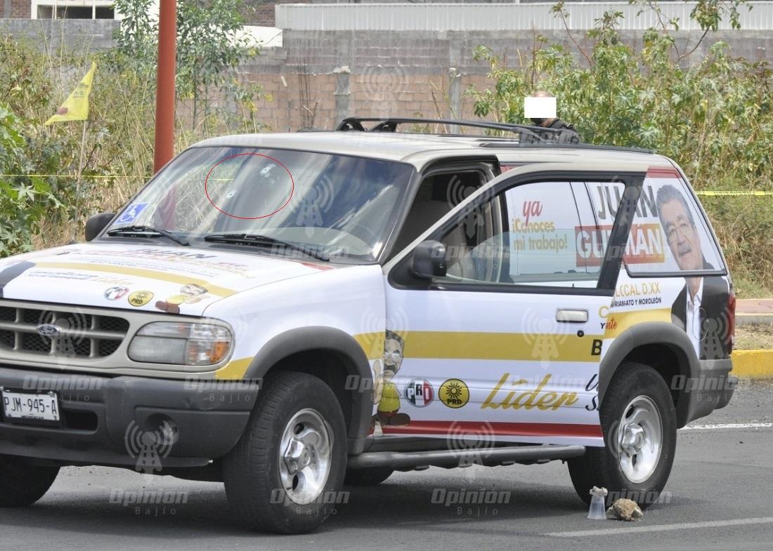 Ataque armado contra candidato de alianza PRI-PRD en Moroleón