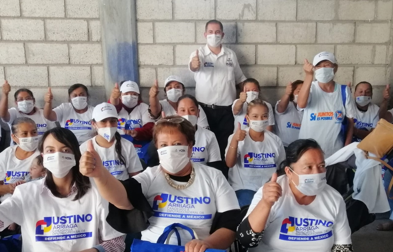 A 2 semanas de las elecciones, Justino Arriaga lleva ventaja de más de 10 puntos sobre otros candidatos