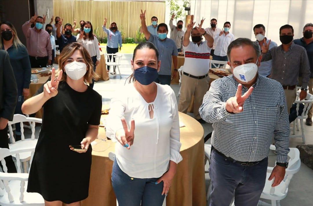 Acuerdan Lorena Alfaro y organizadores de eventos, analizar medidas de apoyo al sector