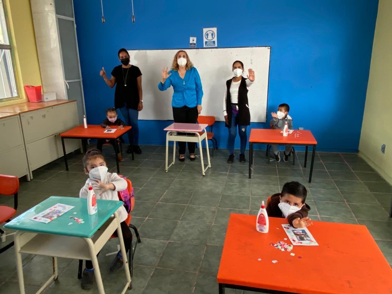 Con más de 6 mil alumnos, inicia Guanajuato programa piloto de clases presenciales