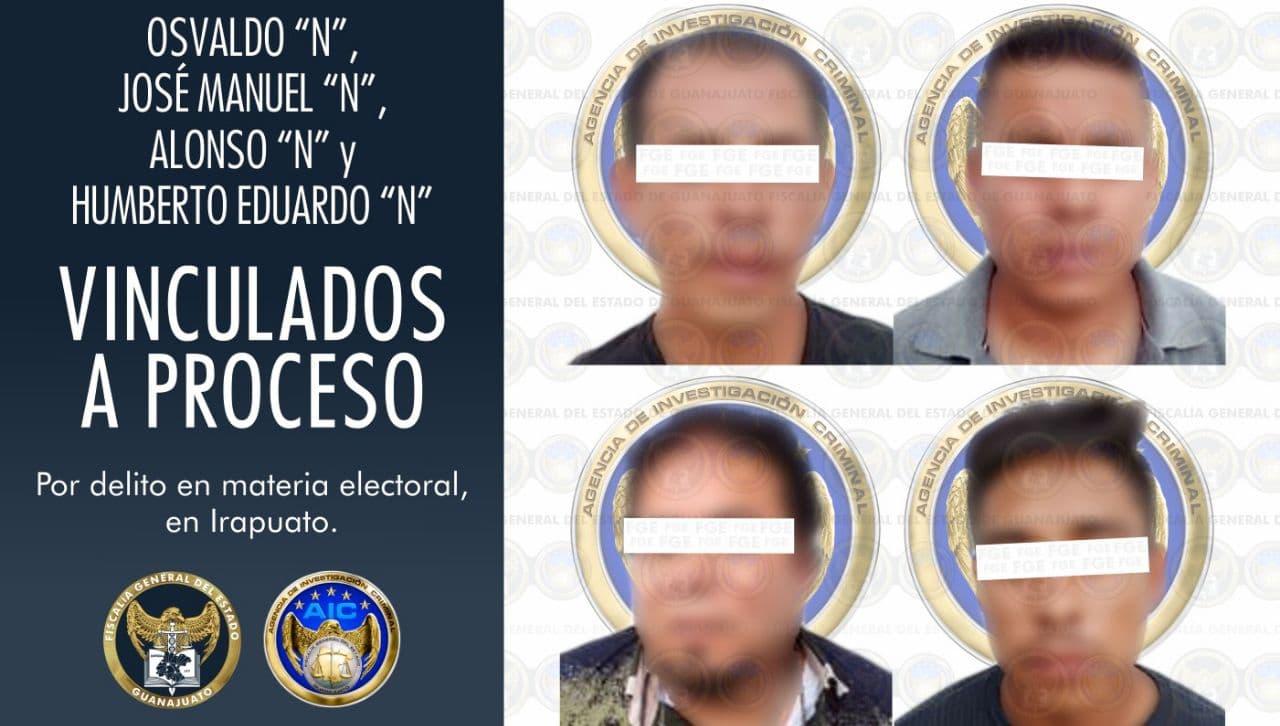 Vinculan a proceso a sujetos que robaron urnas durante las elecciones