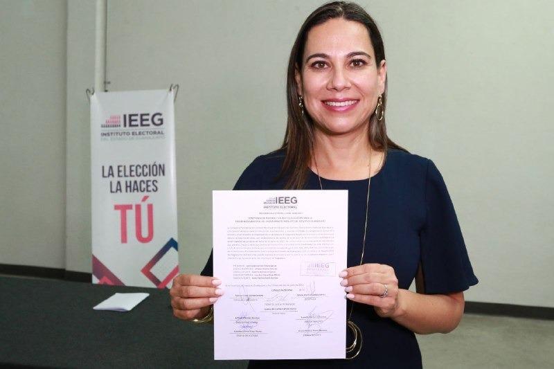 Lorena Alfaro hace historia y se convierte en la primera alcaldesa electa de Irapuato