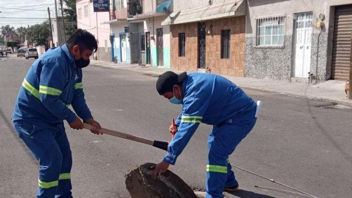 Para reducir colapsos, JAPAMI revisa sistema de drenaje