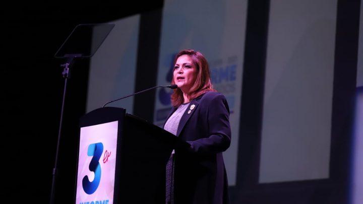 Presentó Elvira Paniagua tercer informe de gobierno en Celaya