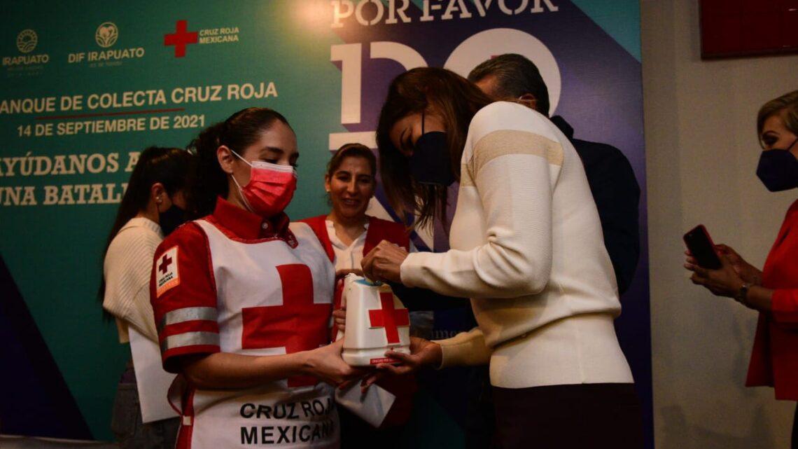 Inicia colecta en favor de Cruz Roja Irapuato