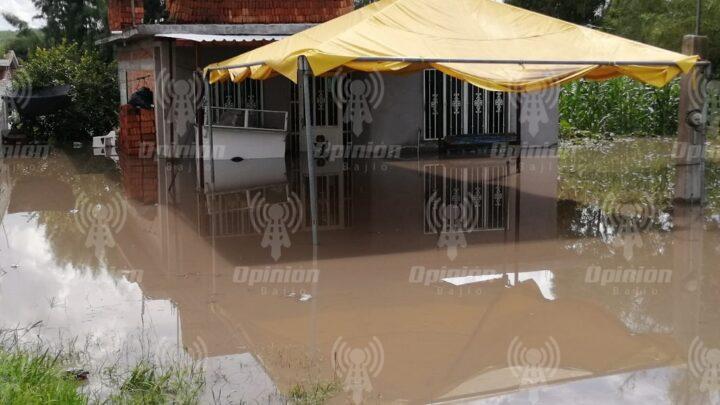 Cientos de damnificados en Abasolo por inundaciones