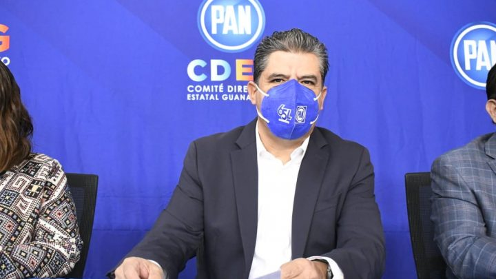 """Niegan """"dedazo"""" en  Planilla de unidad para dirigencia del PAN Guanajuato"""