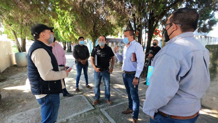 Preparan en Cuerámaro operativo municipal para festividades de Día de Muertos