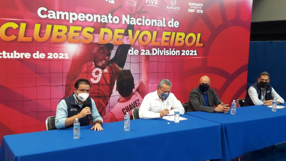Por segunda ocasión, Irapuato será sede del campeonato nacional de clubes de Voleibol